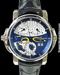 ULYSSE NARDIN 670-88 SONATA CATHEDRAL DUAL TIME 18K AUTOMATIC