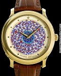 VACHERON CONSTANTIN REF 43064 w/ CHAMPLEVÉ ENAMEL HAND PAINTED DIAL LIMITED EDITION OF 10