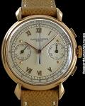 VACHERON CONSTANTIN REF 4178 CREAM DIAL CHRONOGRAPH ROSE GOLD 18K CIRCA 1955