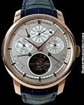 VACHERON CONSTANTIN 88172 PATRIMONY TRADITIONNELLE TOURBILLON 18K ROSE