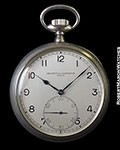 VACHERON & CONSTANTIN MILITARY POCKET WATCH 60mm 925 SILVER