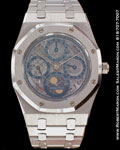 AUDEMARS PIGUET ROYAL OAK SKELETON PERPETUAL CALENDAR PLATINUM