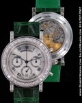 BREGUET CHRONOGRAPH PLATINUM DIAMONDS 3961