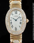 CARTIER LADIES BAGNOIRE 18K DIAMONDS