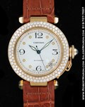 CARTIER PASHA 18K DIAMONDS