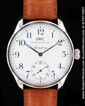 IWC PORTUGIESER F.A.JONES LIMITED EDITION