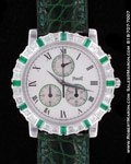 PIAGET EMERALD DIAMOND CHRONOGRAPH