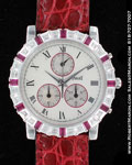 PIAGET RUBIES & DIAMONDS CHRONOGRAPH