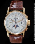 PATEK PHILIPPE VINTAGE PERPETUAL CALENDAR CHRONOGRAPH MOONPHASE 1518