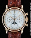PATEK PHILIPPE PERPETUAL CALENDAR CHRONOGRAPH MOONPHASE 3970 18K YELLOW GOLD