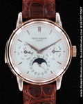 PATEK PHILIPPE PERPETUAL CALENDAR MINUTE REPEATER MOONPHASE 3974