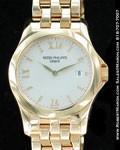 PATEK PHILIPPE LADIES CALATRAVA 4906 18K YELLOW GOLD