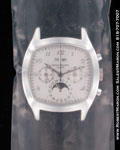PATEK PHILIPPE PERPETUAL CALENDAR CHRONOGRAPH MOONPHASE 5020 18K WHITE GOLD