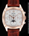 PATEK PHILIPPE PERPETUAL CALENDAR CHRONOGRAPH MOONPHASE 5020