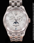 PATEK PHILIPPE ANNUAL CALENDAR MOONPHASE ROMAN