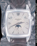 PATEK PHILIPPE MOONPHASE ANNUAL CALENDAR 5135 18K WHITE GOLD