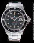 "ROLEX ""RED"" VINTAGE SUBMARINER"