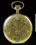 WASHINGTON WATCH CO POCKET WATCH 14K GOLD PLATED